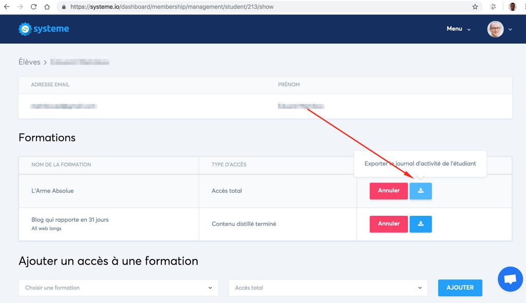 Créer un espace membre systeme.io, pratique pour créer des formations en ligne